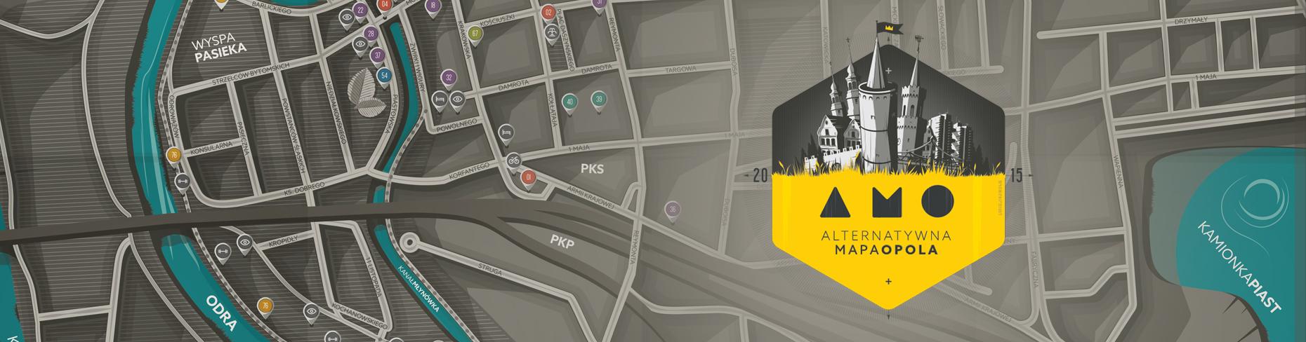 Alternatywna Mapa Opola dla Ciebie