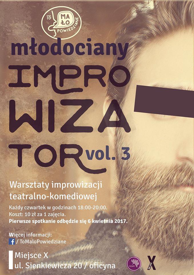 Młodociany improwizator vol. 3 – warsztaty improwizacji