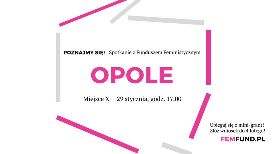 Spotkanie z Funduszem Feministycznym